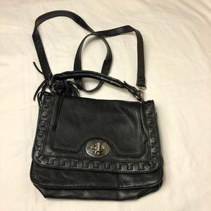 Madden Girl Faux Leather Shoulder Bag